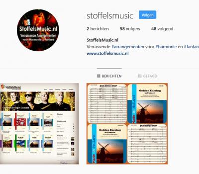 StoffelsMusic nu ook op Instagram!